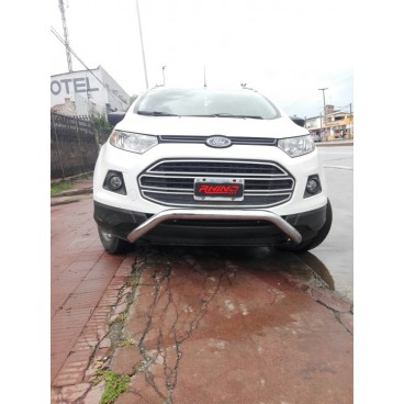 Defensa tubular cromada para Ford Ecosport 12+