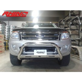 Defensa tubular cromada para Ford Ranger 12+