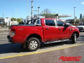 Estribos tubulares para Ford Ranger 12+